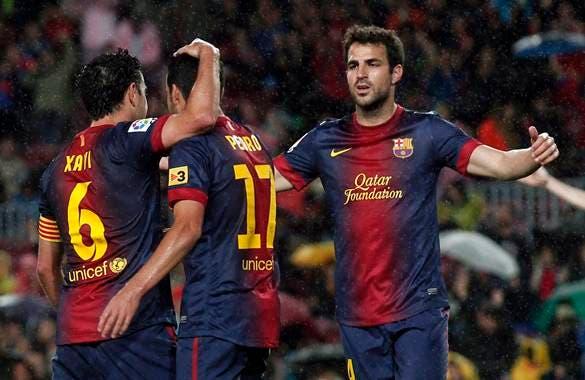 Jugadores del Barcelona. Fuente externa,