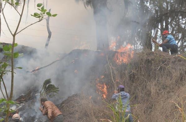 Incendio en Sosúa