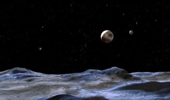 El planeta Plutón. Imagen: EFE.