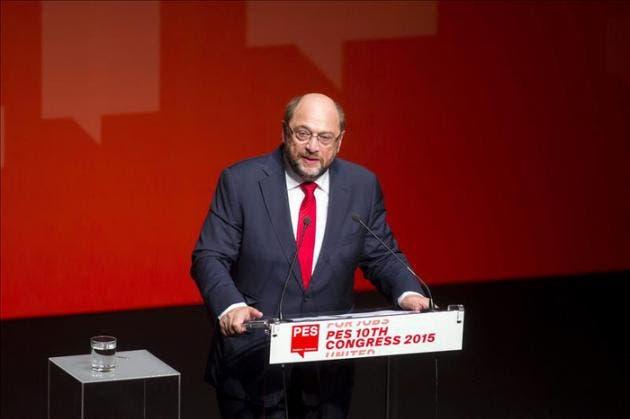 Schulz sopesa créditos de emergencia para mantener servicios públicos griegos