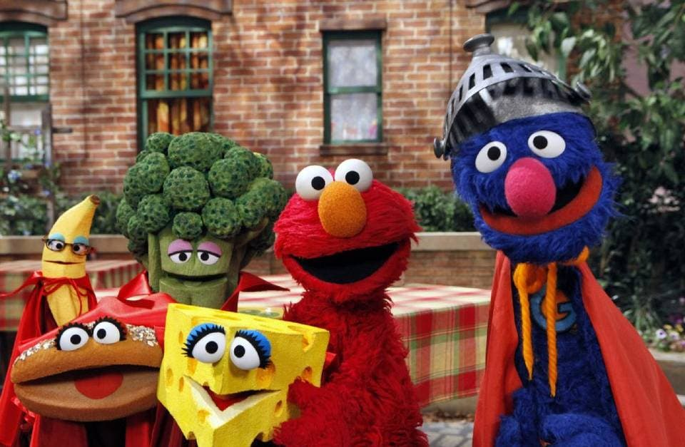 Sesame Street 45 Years (1)