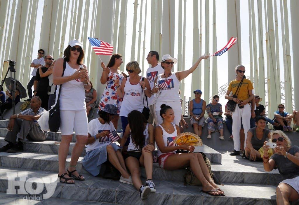 Pese a tener limitaciones para llegar a Cuba por parte de su país, el arribo de visitantes estadounidenses a la isla se incrementó en un 54% en el periodo de enero a julio, archivo