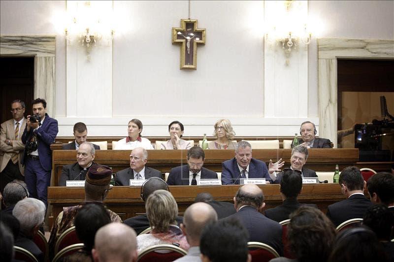 La cita del Vaticano, que concluye hoy, se produce a pocos meses de la que reunirá en París a líderes de todo el mundo en la denominada COP21 con el objetivo de alcanzar un acuerdo para reducir el impacto del cambio climático.  EFE
