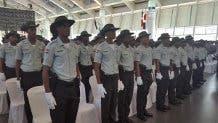 """""""Los nuevos graduandos, en un grupo de 1800 agentes policiales, recibieron entrenamiento especial en cuanto a la Ley 241 sobre Tránsito y sus modificaciones"""", indicó el comunicado. Fuente externa."""