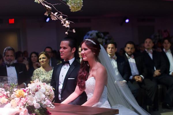 Los recién casados Iamdra Femín y  Andrés Madera, Foto tomada del Instagran @iandra.