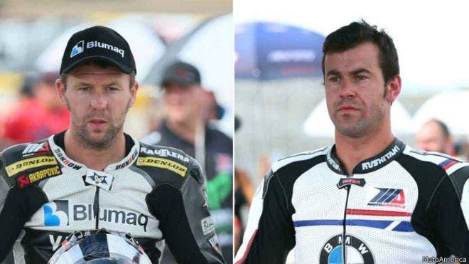 Bernat Martínez y Daniel Rivas corrían en una categoría que sirvió de apoyó a la válida del Mundial de Superbikes. BBC Mundo