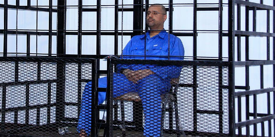 TRÍIPOLI, Libia (AP) — Un tribunal libio condenó el martes al hijo de Moamar Gadafi a morir a manos de un pelotón de fusilamiento tras condenarlo por asesinato e incitación al genocidio durante la Primavera Árabe de 2011 en el país, fuente externa
