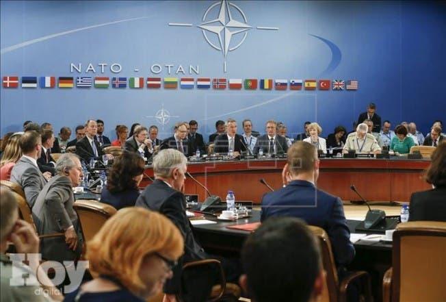 """Los países miembros de la Alianza Atlántica dejaron claro que el terrorismo supone """"una amenaza directa a la seguridad de los países de la OTAN y a la estabilidad y prosperidad internacionales"""". EFE"""