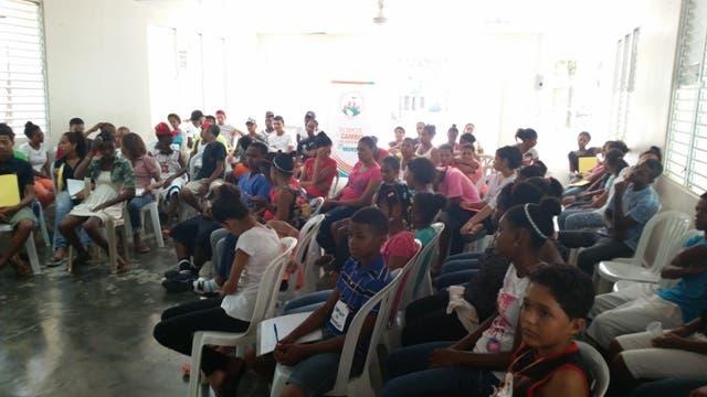 El campamento tuvo lugar en el Centro Salesiano de Cacique Moncion, Santiago Rodríguez, y se desarrolló  durante el fin de semana del 24 al 26 de julio.