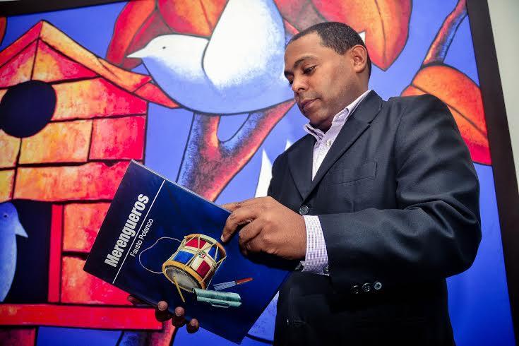 Fausto Polanco, autor del libro, arcivo