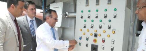 Ángel Estévez, ministro de Agricultura, inauguró hoy  en el Aeropuerto Internacional de las Américas (AILA) un moderno sistema automático de incineración,  fuente externa