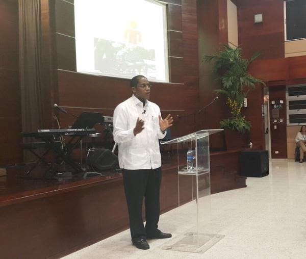 Hiddekel Morrison, candidato a Diputado del Partido Revolucionario Dominicana (PRD), fuente externa