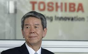 Hisao Tanaka, Presidente de TOSHIBA, fuente externa