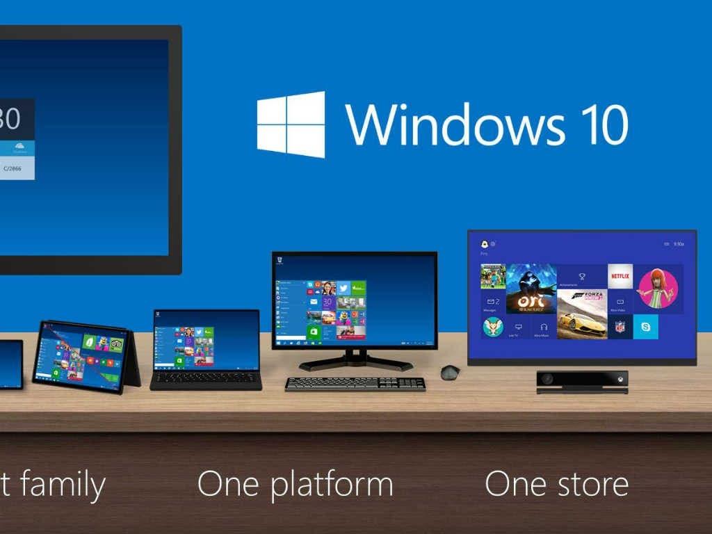 Windows 10 busca una sola experiencia. Fuente externa.