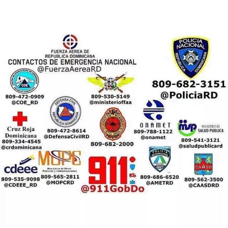 HOY digital comparte con ustedes los teléfonos ante cualquier emergencia.