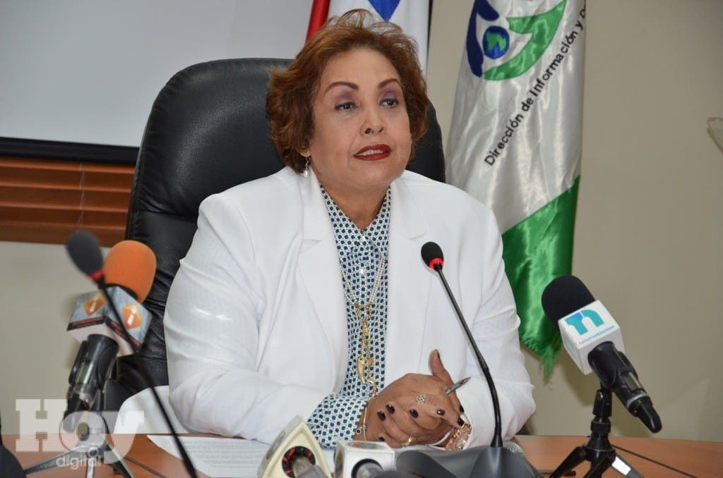 La directora ejecutiva de la Dirección de información y Defensa a los afiliados a la Seguridad Social (DIDA), Nélsida Marmolejo. Fuente externa