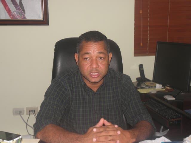 Fermín Brito, director  de la Corporación de Acueducto y Alcantarillado de Boca Chica (Coraabo). Fuente externa