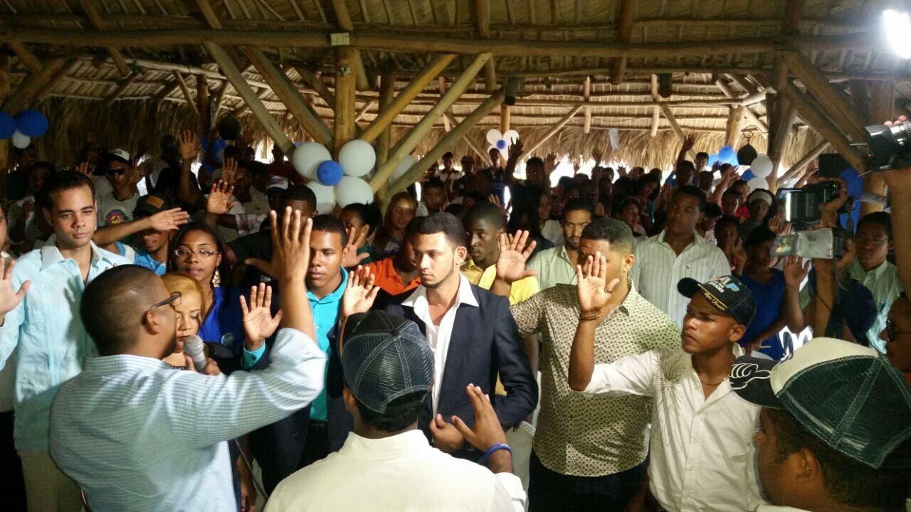 Jóvenes del PRM dicen Danilo Medina gobierna de espalda a la juventud