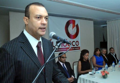 Feliz Vinicio Lora, expresidente de Acroarte. Alegría