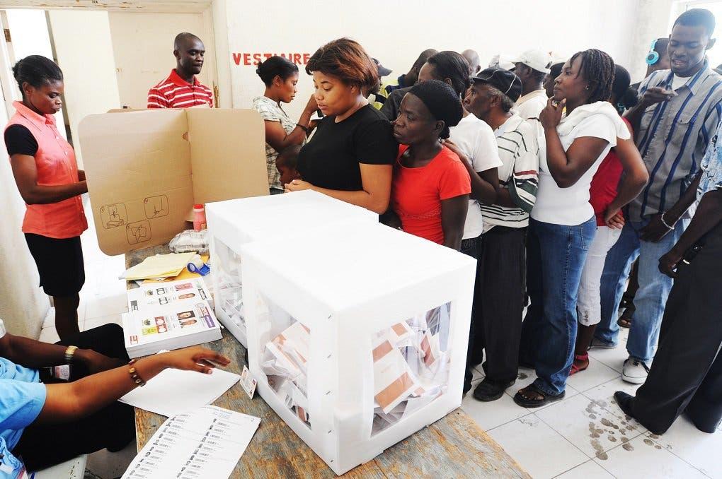 La UE calificó hoy la primera vuelta de las elecciones legislativas en Haití