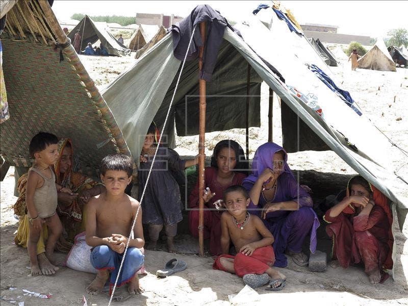 El monzón causa 166 muertos y más de un millón de afectados en Pakistán