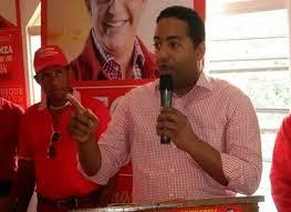 El candidato a senador del Partido Reformista Social Cristiano (PRSC),  Benny Metz