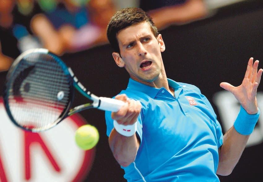 Djokovic junto Nadal y Federer estarán buscando la supremacía en el US Open de Tenis que arranca hoy Fuente externa
