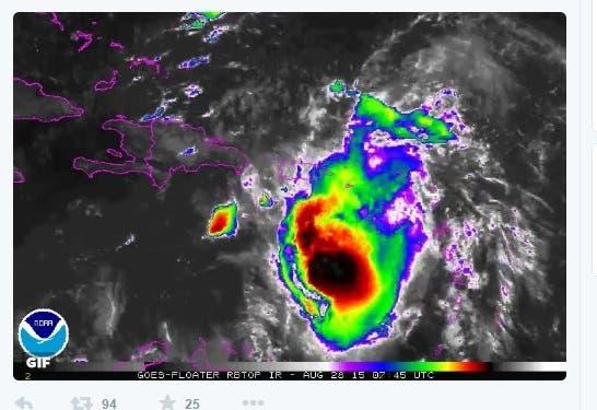 Erika impactó Dominica y Puerto Rico