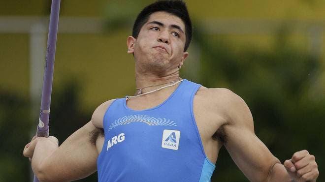 El lanzador argentino, cuarto este año en los Panamericanos, obtuvo en 2010 la medalla de oro en los Juegos Olímpicos de la Juventud y dos años después fue subcampeón mundial júnior.