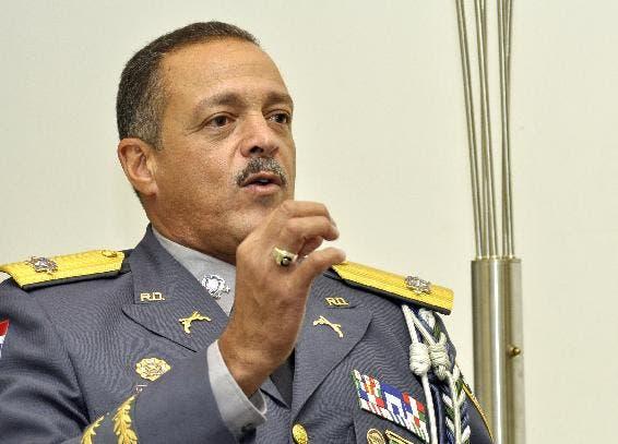 El mayor general Nelson  Peguero Paredes, archivo