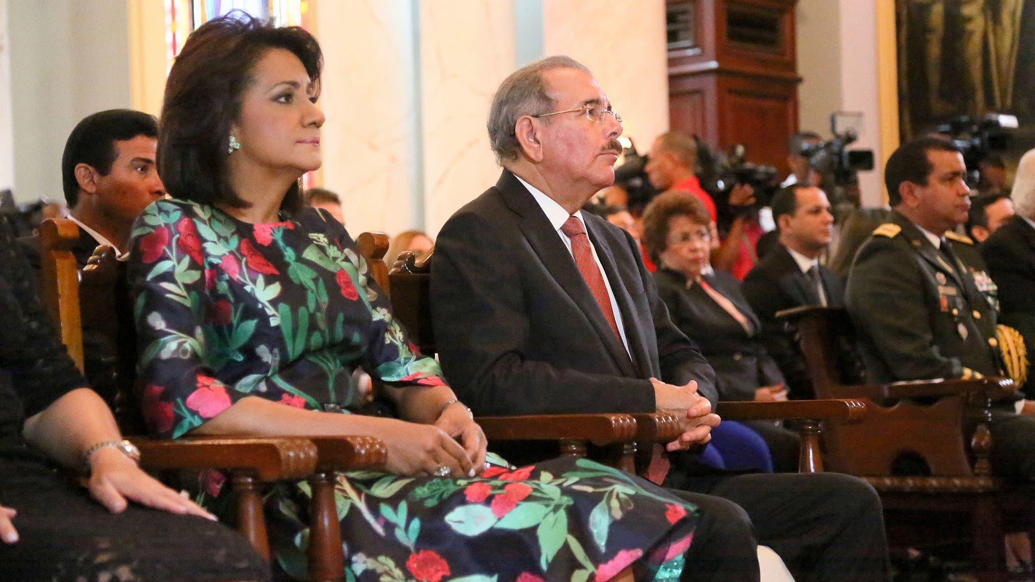 Celebran misa de acción de gracias por tercer año de gobierno de Danilo Medina