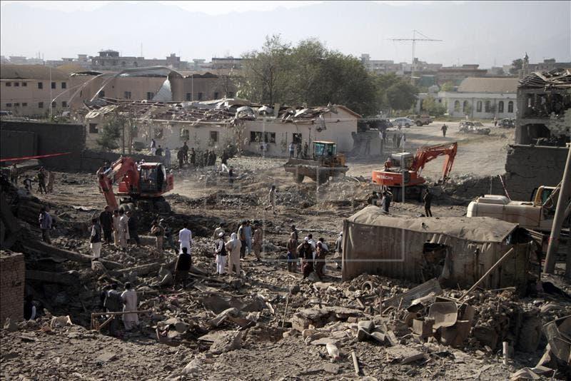 La caída de la sexta capital provincial afgana hace tambalearse Afganistán