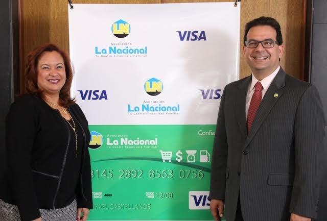 Asociación La Nacional y Visa lanzan nueva tarjeta de crédito Visa ConfiaMás