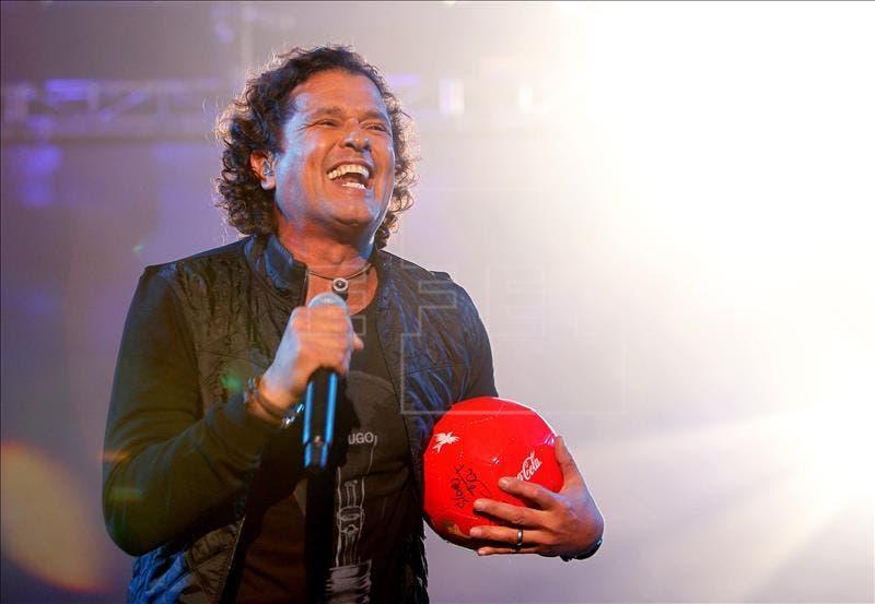 El cantante colombiano Carlos Vives. EFE/Archivo