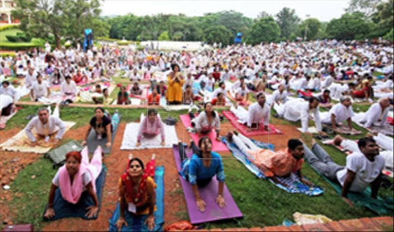 La hora del yoga