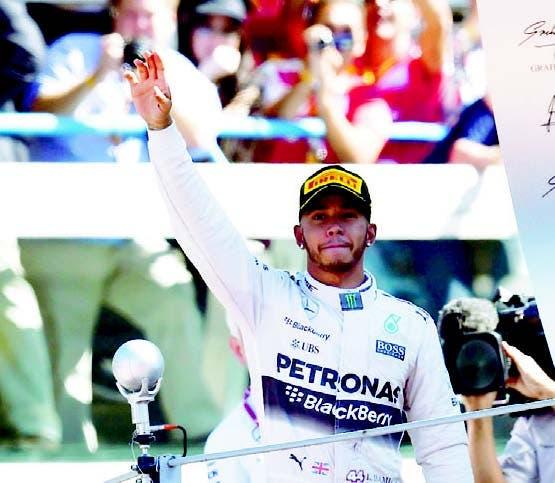 Lewis Hamilton obtuvo el mejor tiempo en Italia.