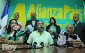 Partido Alianza País anuncia eventos para completar su propuesta electoral