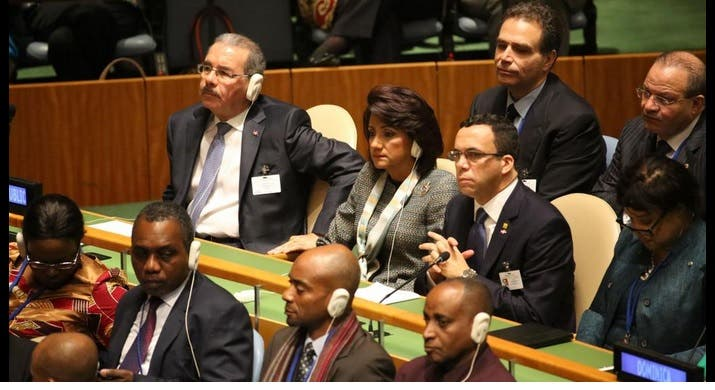 Danilo Medina en la ONU
