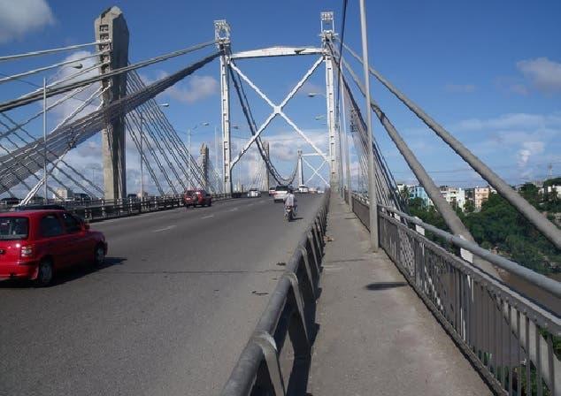 Aclaran carriles del puente Juan Bosch serán intervenidos de dos en dos