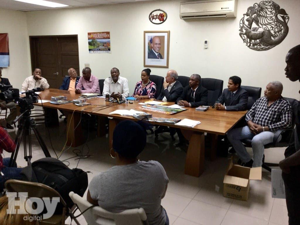 Rueda de prensa Puerto Príncipe, Haití (1)