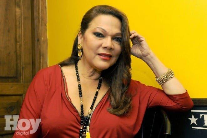 Valladolid, 17/10/2013. Angela Carrasco en la sala porta caeli. Foto Ricardo Otazo.