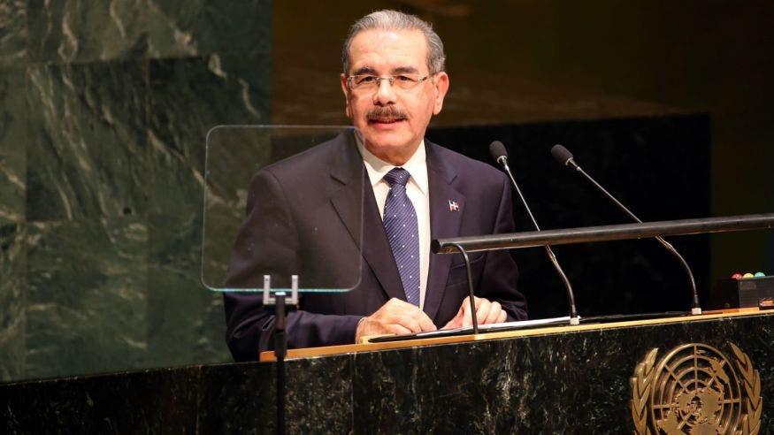 Danilo Medina dice en la ONU que RD trabaja sin descanso por la igualdad de género
