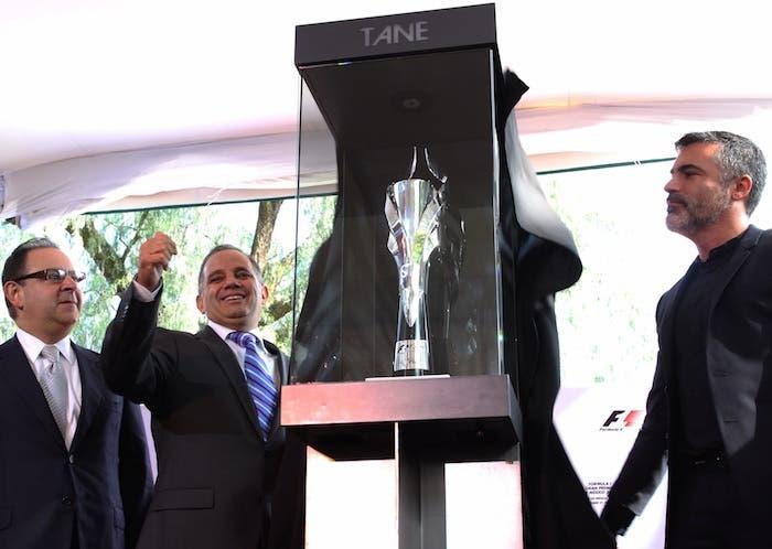 El Gran Premio de la Fórmula Uno que se correrá en México el próximo 1 de noviembre recompensará al campeón con un trofeo elaborado en plata