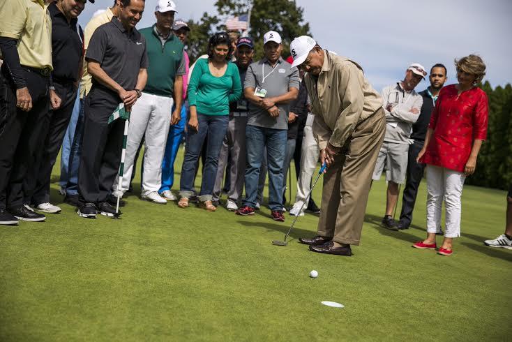 Más de 100 jugadores participaron en el VI Torneo de Golf de GFDD Funglode