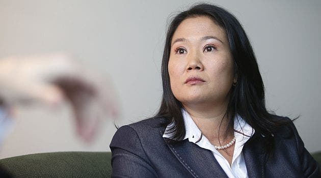 Fujimori sigue favorita en Perú; No cree que hay políticos honestos