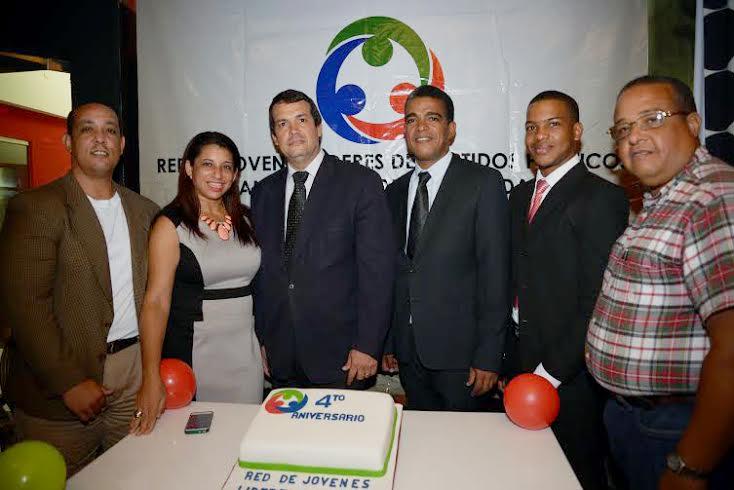La Red de Jóvenes Líderes de los Partidos Políticos y Organizaciones de la Sociedad Civil celebró su cuarto aniversario