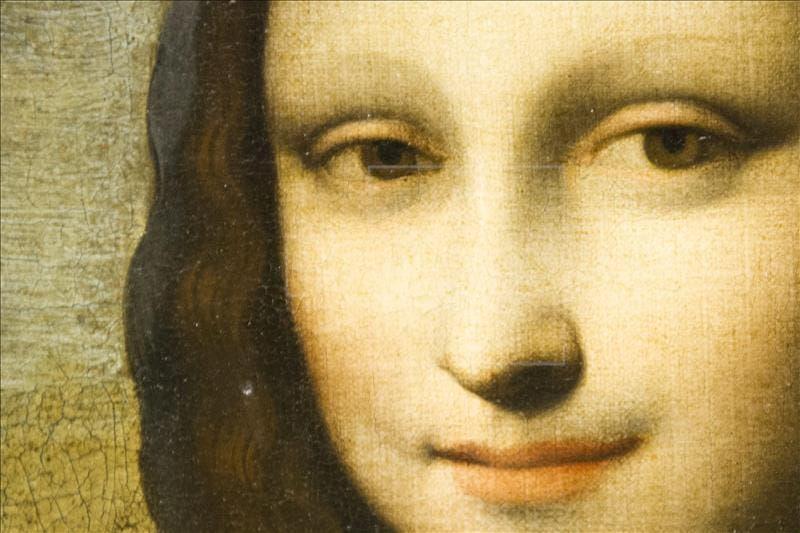 """Detalle del cuadro conocido como la Mona Lisa de Isleworth, en el que Leonardo da Vinci pintó a Lisa Gherardini, """"la Gioconda"""". EFE/Archivo"""