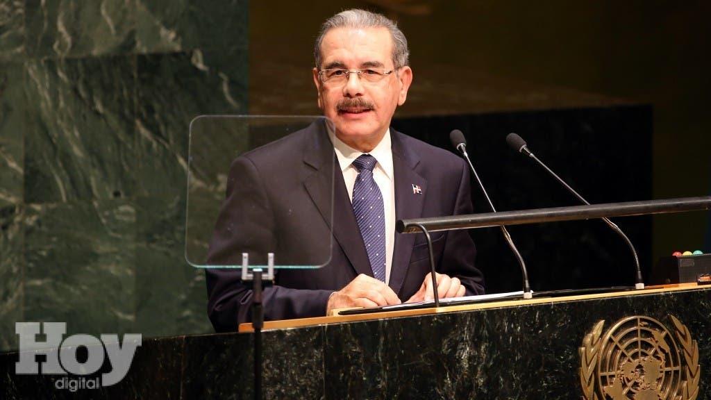 Presidente Medina parte hoy  Nueva York a participar en Cumbre de la  ONU