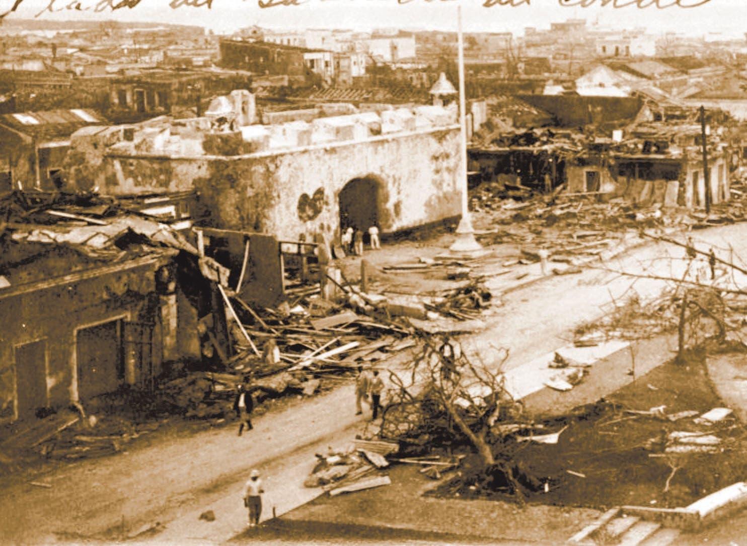 Hoy se cumplen 90 años de San Zenón, el huracán que arrasó Santo Domingo