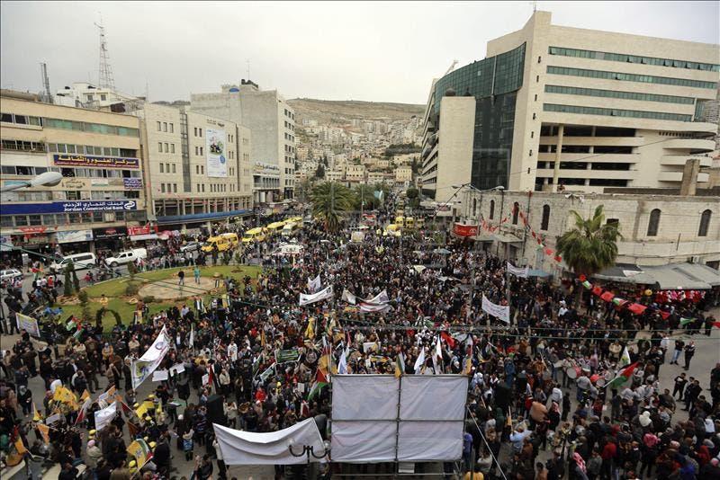 palestinos festejan